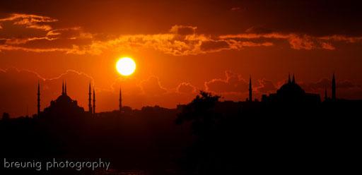 istanbul sunset I