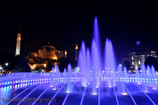 fountain @ ayasofya
