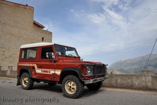 red vehicle II