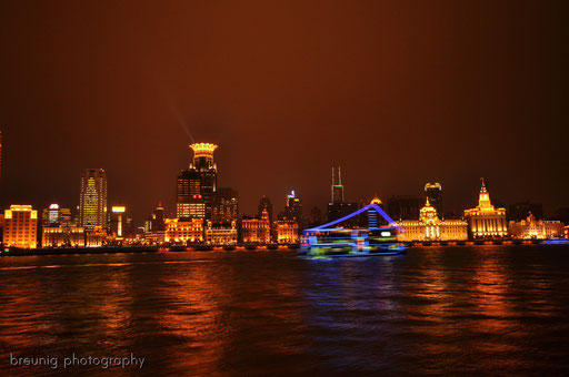 view to the bund