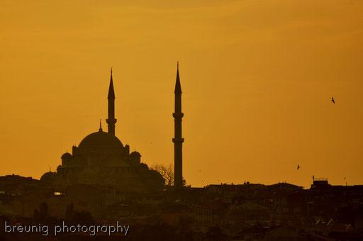 fatih camii @ sunset I