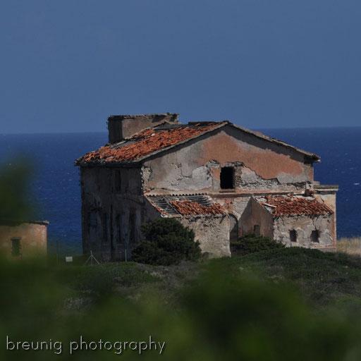 ruin at costa smeralda