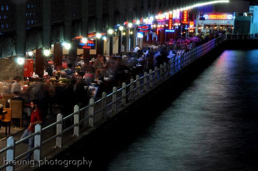 galata bridge @ night