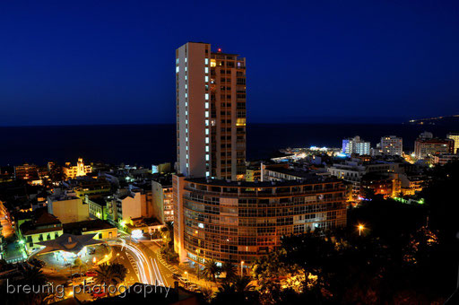 twilight in puerto de la cruz I