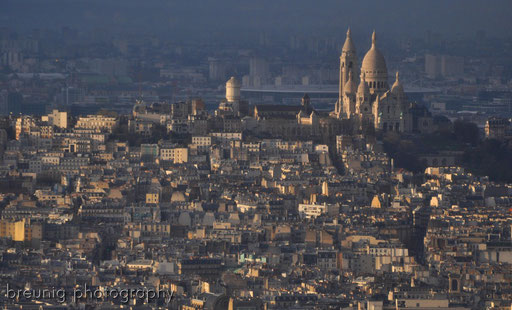 on top of tour montparnasse II - view to montmartre