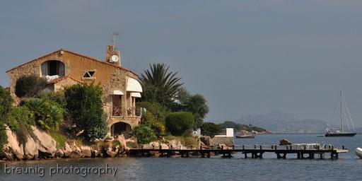 the villa at the sea