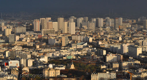 on top of tour montparnasse IV - banlieues