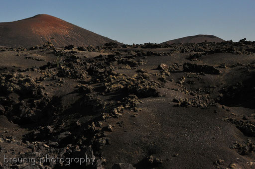timanfaya rocks and lava