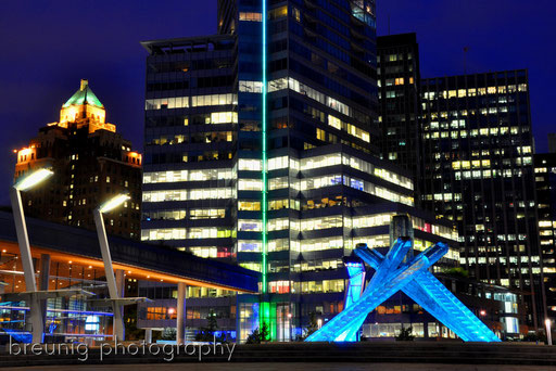 coal harbor XV - vancouver olympic cauldron 2010
