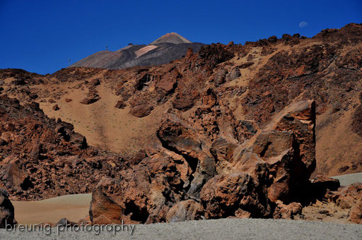 las canadas del teide national park IV