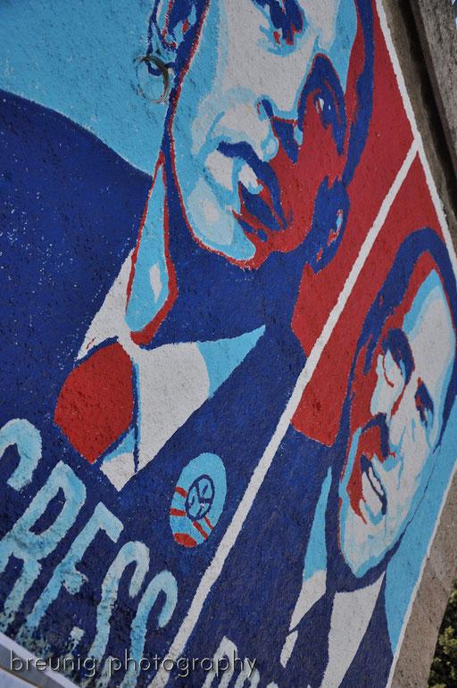 orgosolo's famous (political) graffitis XII