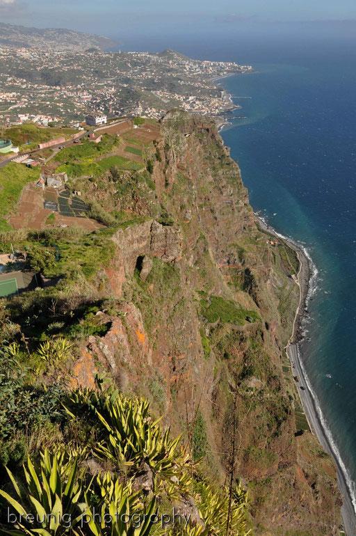 cabo girão I - mit 586m eine der höchsten steilklippen europas: schwindelfrei = pflicht!