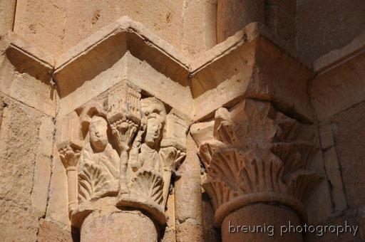 details of iglesia de la vera cruz
