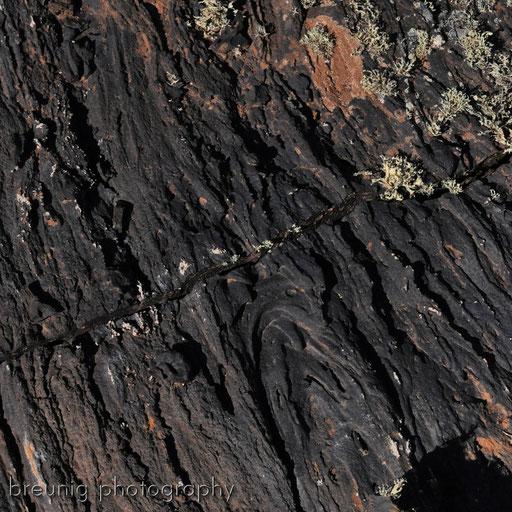 caldera colorada III: aa-lava