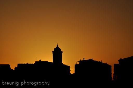 corsica sunset - bonifacio