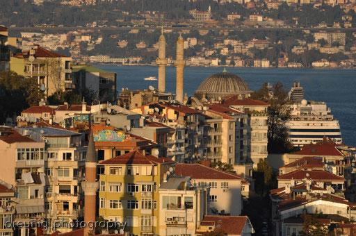 galata tower II - view to besiktas