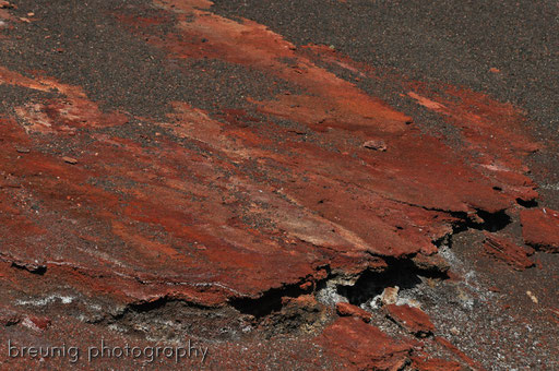 parque nacional de timanfaya II: iron crust