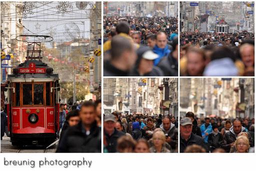 rush hour @ istikal caddesi