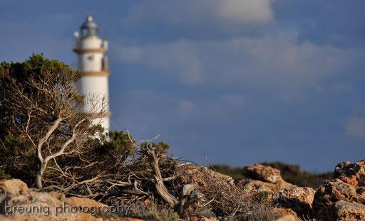 coast hike near cap de ses salines X - lighthouse