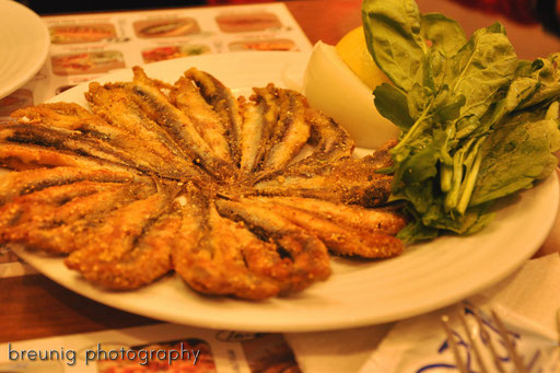 fried anchovies @ üsküdar