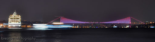 bosporus bridge + cruiser