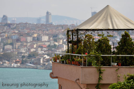 watching across bosporus I