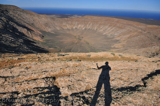 caldera blanca VI: yes, on top of