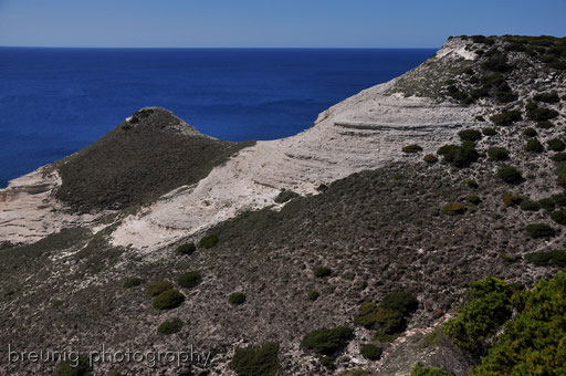 corsica coast III - two simple hills, but...