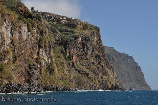 ribeira brava - steilküste