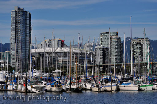 false creek & vancouver bc place stadium