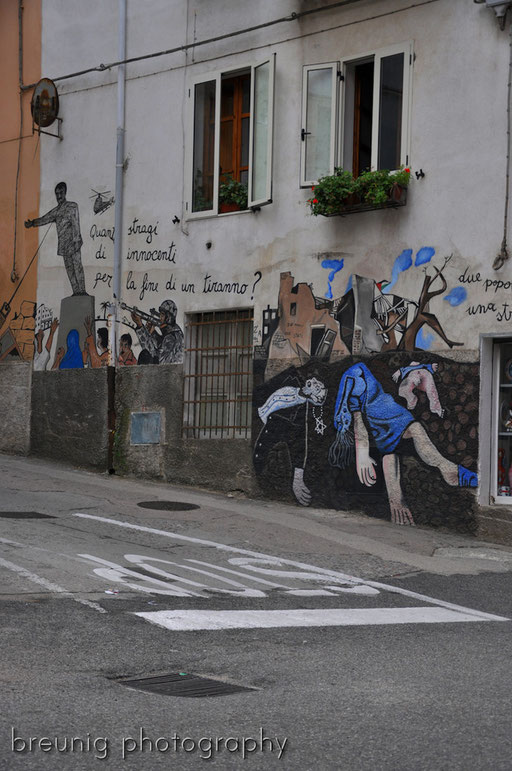 orgosolo's famous (political) graffitis XI