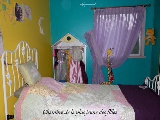 Chambre de la plus jeune des filles.