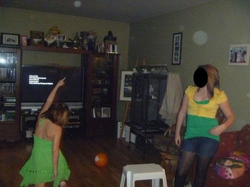 Photo qui nous a été envoyé par la famille avant l'enquête. « Encore des orbes »