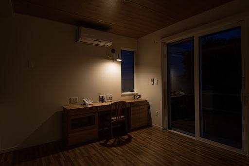 【北海道上士幌】 作業スペース