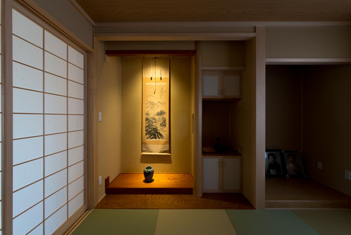 【北海道上士幌】 作り込んだ和室