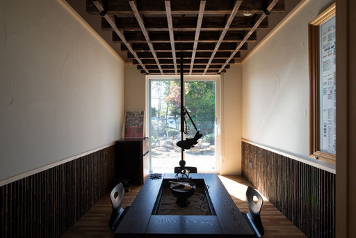 【北海道上士幌】 本格的な囲炉裏の部屋