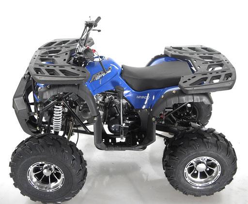 STRIKE 125CC AL ATV AUTOMATIC W/ REVERSE BLUE SIDE