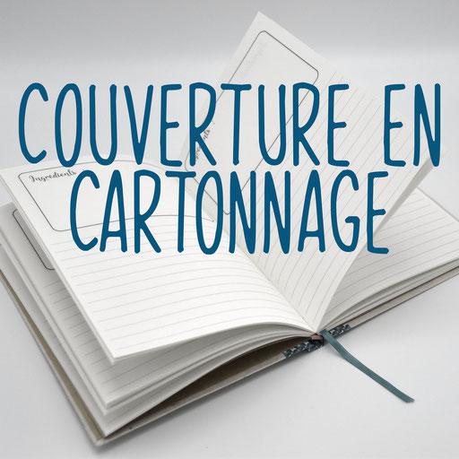 reliure cousue et couverture en cartonnage, création reliure cousue Marie Donnot, atelier idéEphémère, 64260 Bielle