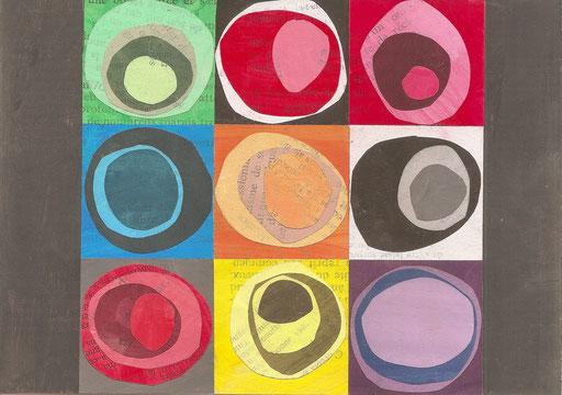 design graphique, les contrastes de couleurs, création Marie Donnot, atelier idéEphémère, 64260 Bielle