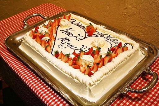 みます屋1二次会ケーキ
