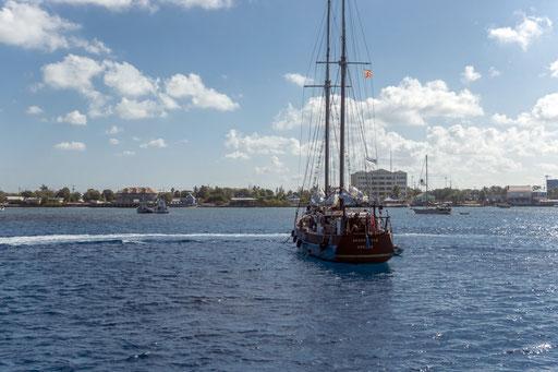 Hafeneinfahrt George Town, Grand Cayman