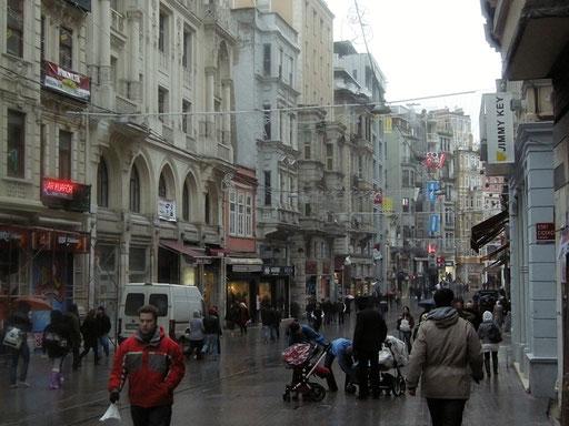 Beyoglu im europäischen Teil
