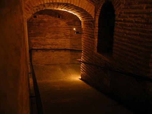 Hagia Sophia: Gang zur Empore