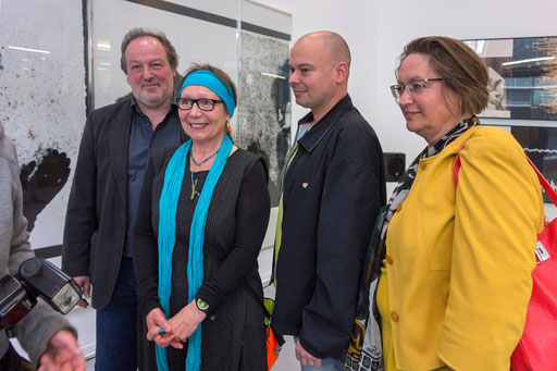 Sepp Hiekisch-Picard, Doro Hülder, Florian Neuner und Petra Göbel