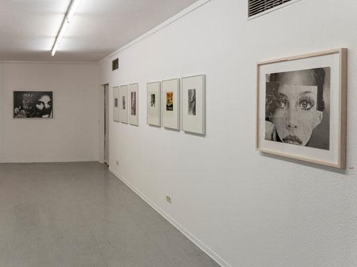 Blick in die Ausstellung im Untergeschoss