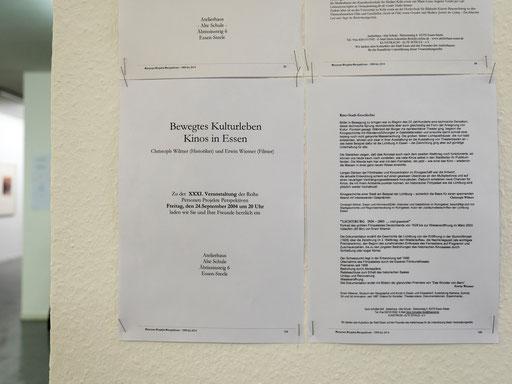 eine von über 90 Einladungen, die Doris Schöttler-Boll für ihre Veranstaltungen im Atlierhaus Alte Schule verschickte