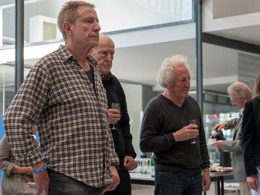 Von links: Klaus Boll, urs Jaeggi und Robert Bosshard