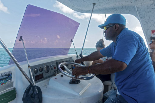 Bootsfahrt nach Belize