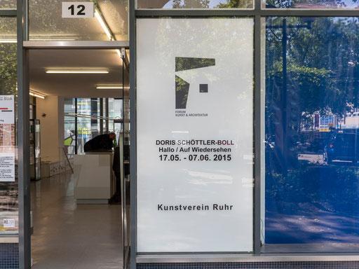 Eingang Forum Kunst & Architektur und Kunstverein Ruhr am Kopstadtplatz 12 in Essen