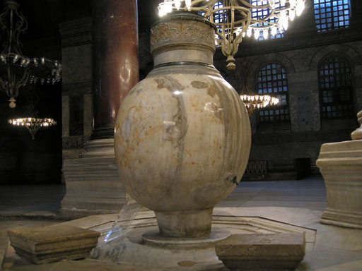 Wassergefäß Hagia Sophia